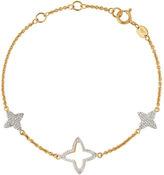 Links of London Yellow Gold and Diamond Splendour Bracelet