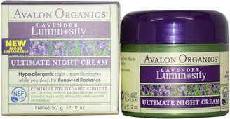 Avalon 2Oz Organics Lavender Ultimate Night Cream