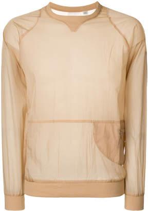 Cottweiler Reebok x sheer side zip sweatshirt