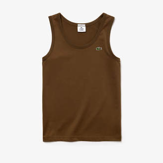 591a323fd1421 Lacoste Men s LIVE Cotton Jersey Tank Top