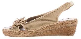 Andre Assous Espadrille Wedge Sandals