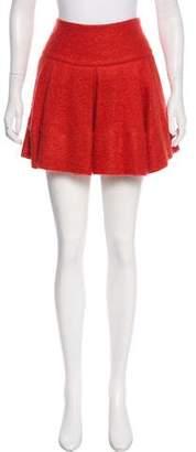 Markus Lupfer Textured Mini Skirt