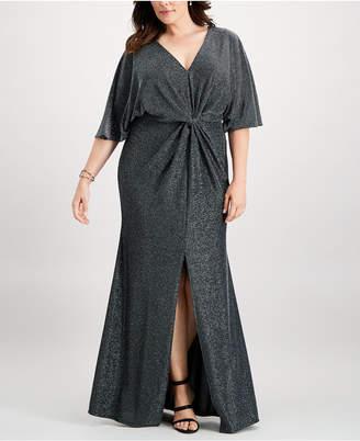Twist Front Dress Plus - ShopStyle