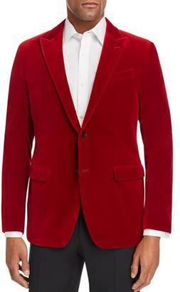 John Varvatos Bleeker Velvet Slim Fit Dinner Jacket