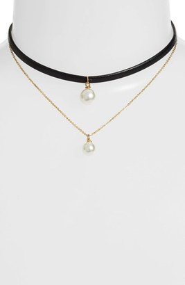 Women's Jules Smith Nan Layered Pendant Choker $60 thestylecure.com