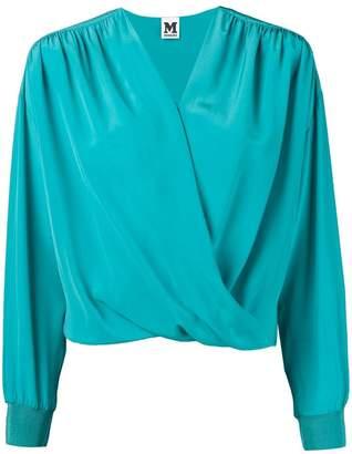 M Missoni V-neck wrap blouse 0db3fe1e0