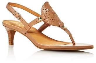 Jack Rogers Jack Rodgers Women's Georgica Kitten Heel Sandals