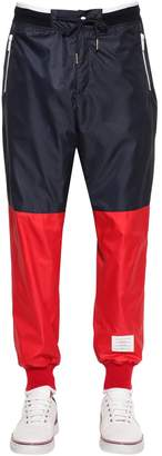Thom Browne Two Tone Nylon Ripstop Track Pants