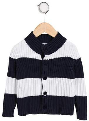 Il Gufo Boys' Stripe Knit Cardigan