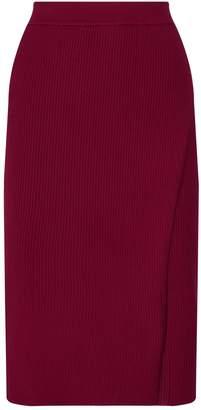 Jonathan Simkhai Ribbed Wrap Skirt