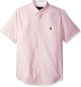 U.S. Polo Assn. Men's Short Sleeve Classic Fit Fancy Shirt