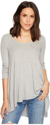Free People January Tee Women's Long Sleeve Pullover