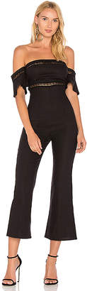 STONE COLD FOX Morrisey Jumpsuit in Black $285 thestylecure.com