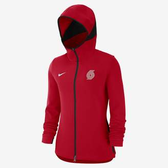 Nike Portland Trail Blazers Dry Showtime Women's NBA Hoodie