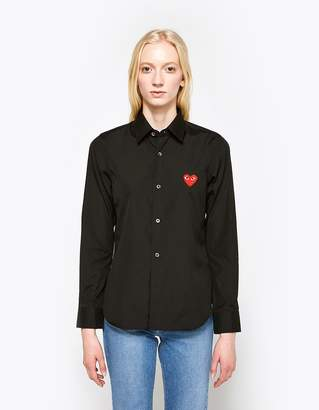 Comme des Garcons Red Heart Play Shirt