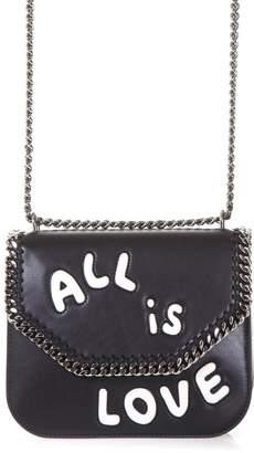 Stella McCartney Black falabella Box Shoulder Bag