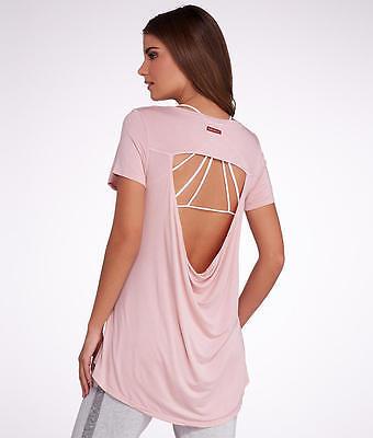 Hard Tail Open Back Knit Tee,, Activewear - Women's