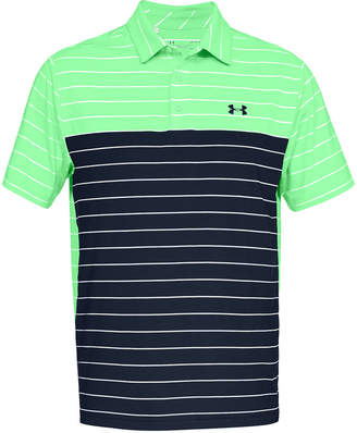 6588fc46c9fa Under Armour Men s Playoff Performance Color Blocked Golf Polo