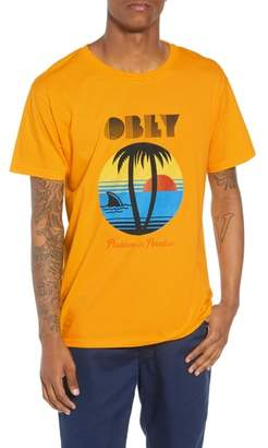 Obey Problems in Paradise Graphic T-Shirt
