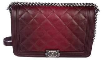 Chanel Ombré Large Boy Flap Bag