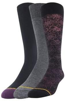 Gold Toe Gt a Goldtoe Brand GT by Men's Fashion Dress Socks, 3-Pack