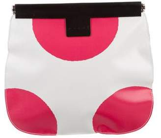 Marni Polka Dot Clutch