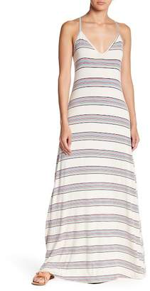 Love Stitch Stripe Maxi Dress