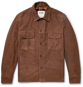 Valstar Suede Shirt Jacket