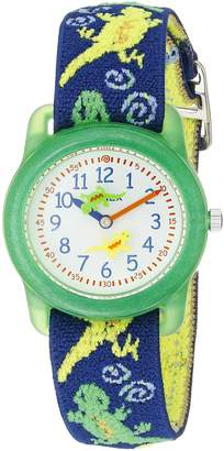 Timex Boys T72881 Time Machines Elastic Fabric Strap Watch