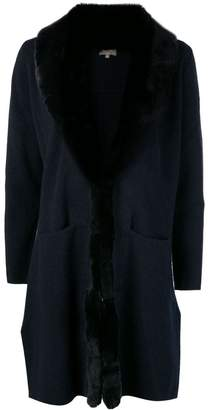 N.Peal fur collar Milano coat