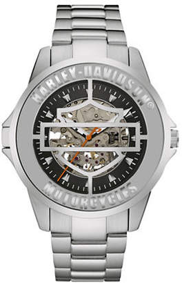 Harley-Davidson Mechanical The Cover Watch Collection Bracelet Watch