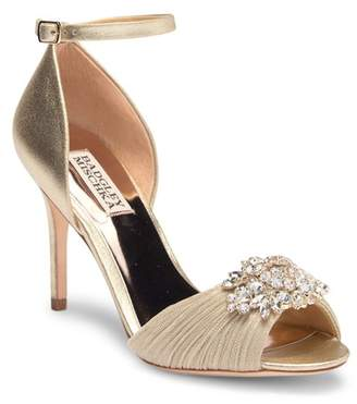 Badgley Mischka Sabrina II Open Toe Pump