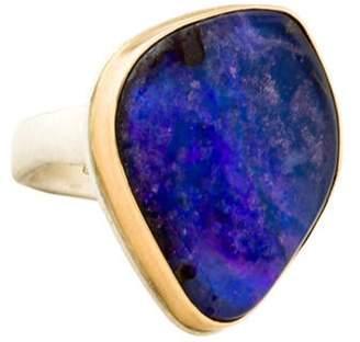 Jamie Joseph Boulder Opal Cocktail Ring silver Boulder Opal Cocktail Ring