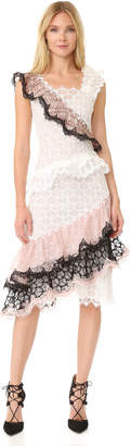 Rodarte Ruffled Lace Dress $8,625 thestylecure.com