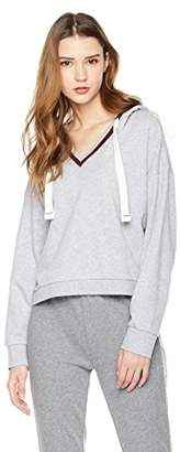 Rebel Canyon Young Womens FR Terry Pullover Long Sleeve Hoody With YD Rib Trim Detail