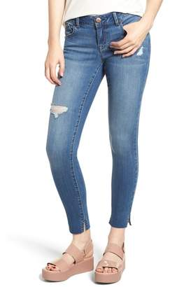 1822 Denim Ripped Skinny Ankle Jeans