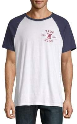 True Religion Raglan Jersey Tee