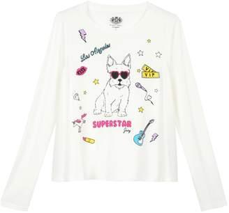 Juicy Couture Superstar Scottie Graphic Tee for Girls