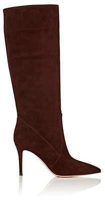 Gianvito Rossi Women's Suede Knee Boots - Brown