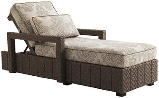 Tommy Bahama Olive Chaise Lounge - Taupe