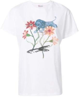 RED Valentino floral print T-shirt