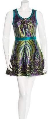 Proenza Schouler Flared Mini Dress