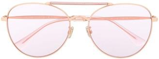 Jimmy Choo Eyewear Abbie aviator sunglasses