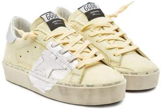 Golden Goose Hi Star Suede Platform Sneakers