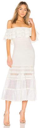 Jonathan Simkhai Off Shoulder Dress
