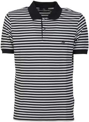 31d1ca65 Black And White Striped Polo Shirt - ShopStyle UK