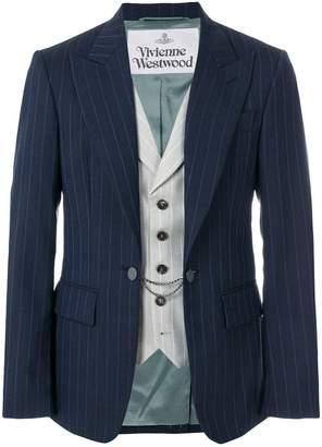 Vivienne Westwood striped waistcoat jacket