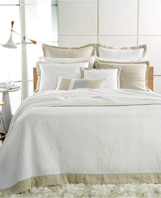 Hotel Collection Voile Quilted King Coverlet