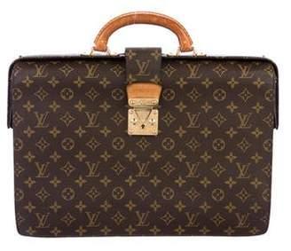 Louis Vuitton Vintage Monogram Serviette Fermoir Briefcase