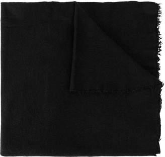 Faliero Sarti fringed edges scarf